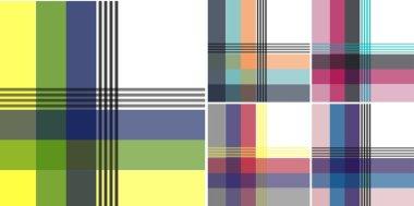 seamless plaid check pattern