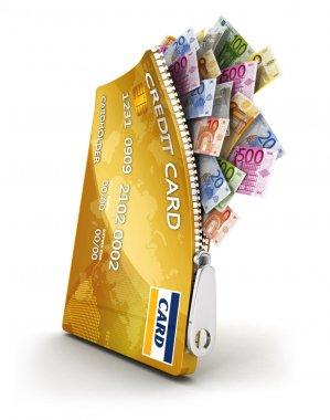 3d open credit card