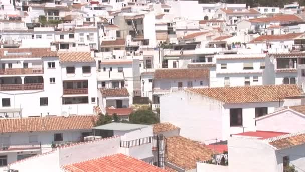 Traditional white homes in the Andalusian town of Mijas
