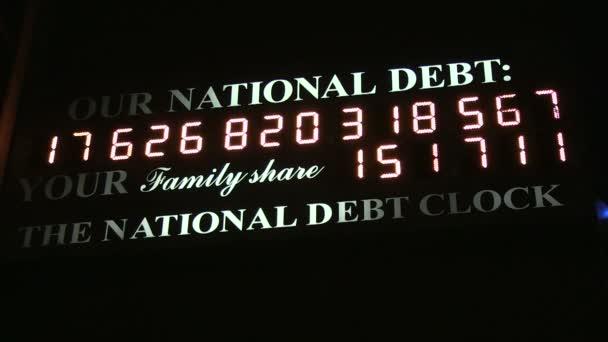 Nemzeti Államadósság óra