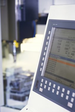 Computer Of A Milling Machine