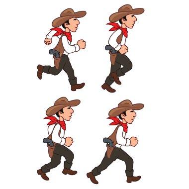 Running Cowboy Sprite
