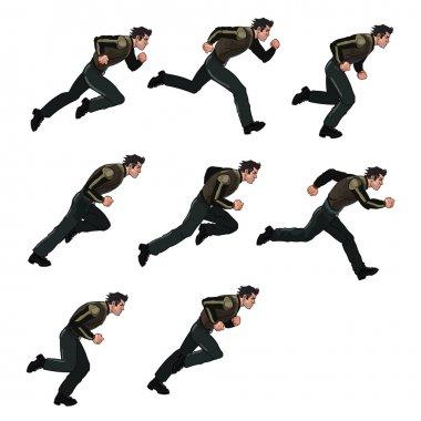 Running Man Sprite