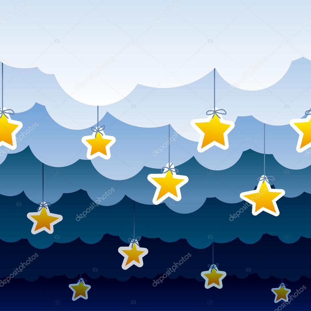 Night background pattern