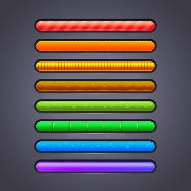 Progress bar for games