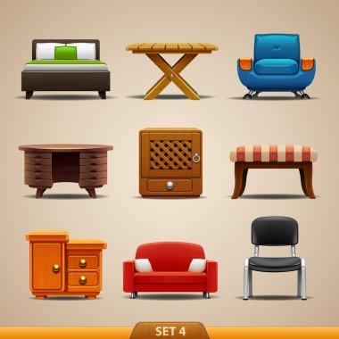 Furniture icons-set 4