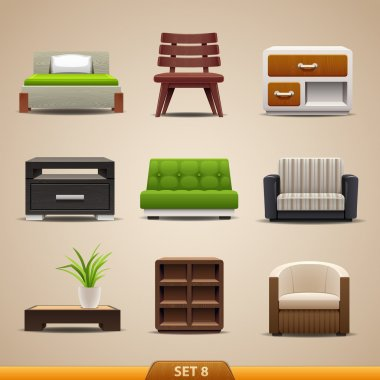 Furniture icons