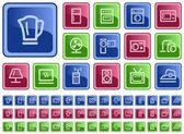 domácí elektroniky tlačítka