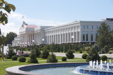 Senate building in Tashkent, Uzbekistan