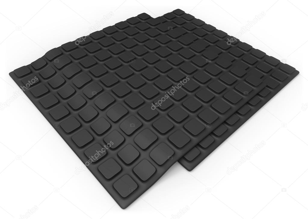 Anti slip rubber mat — Stock Photo © coddie #36447815