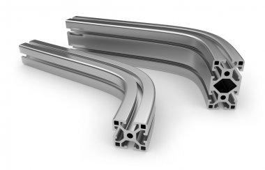 Curved aluminum profile
