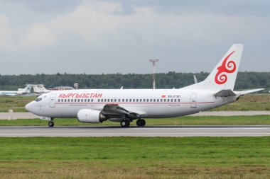 Boeing 737 jet aircraft