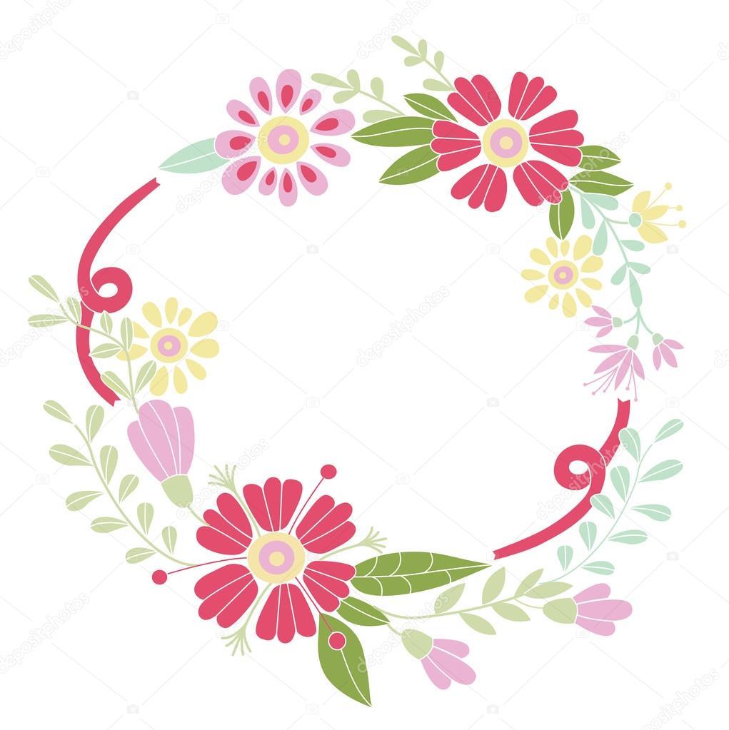 marco flores. diseñado para las invitaciones para las fiestas ...