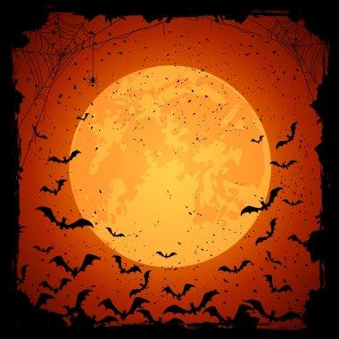 Bats on dark background