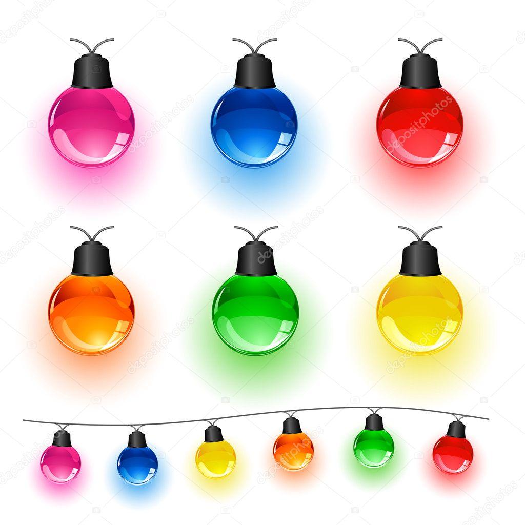 Set of lights