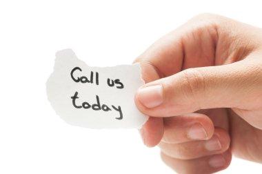 Call us toda