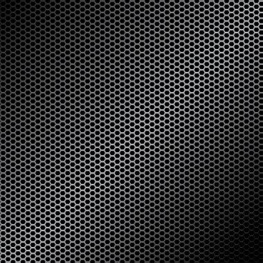 Metal texture stock vector