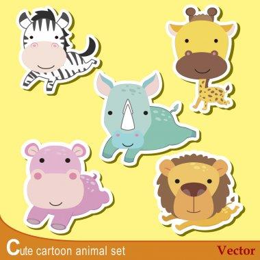 cute animal set04