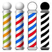 Fotografia Polo negozio di barbiere