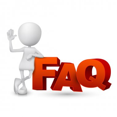 3d person and word FAQ ( Frequently Asked Questions )