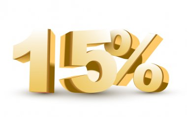 3d shiny golden discount collection - 15 percent