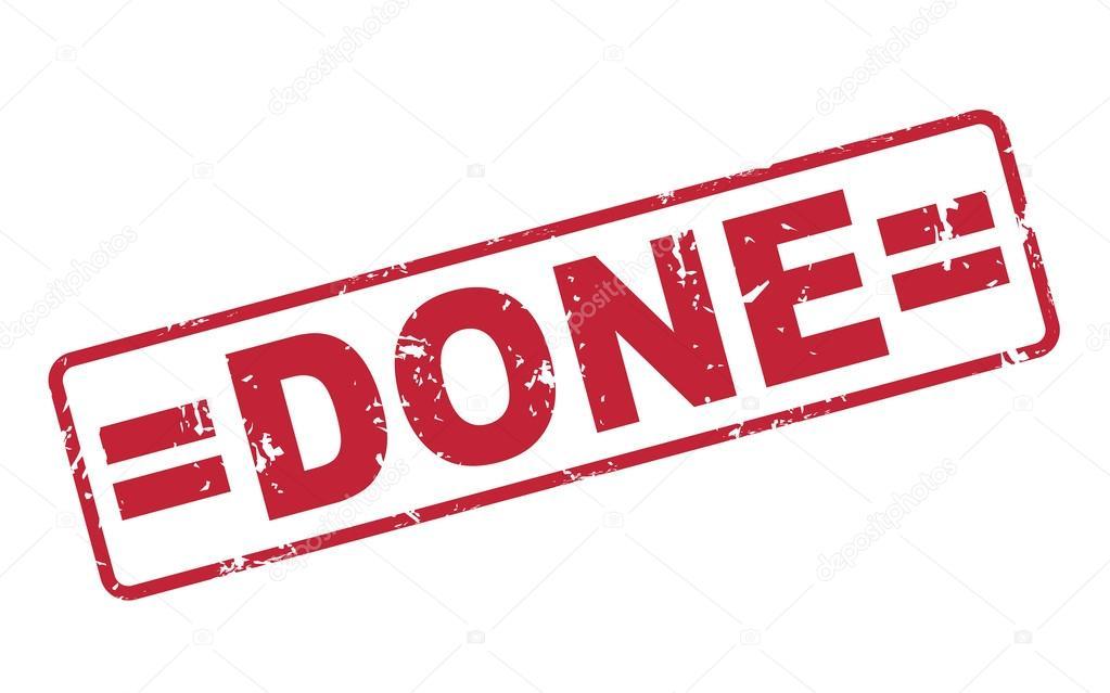 Timbro finito con testo rosso su bianco vettoriali stock for Finito piano piano interruzione sciopero piani