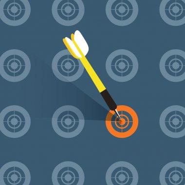 flat design illustration concept of good choice