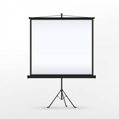 vector 3d blank projection screen