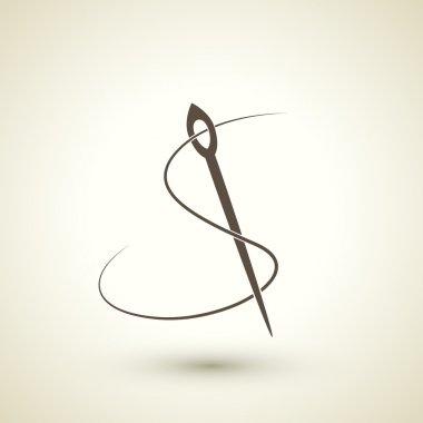 seamstress concept flat icon