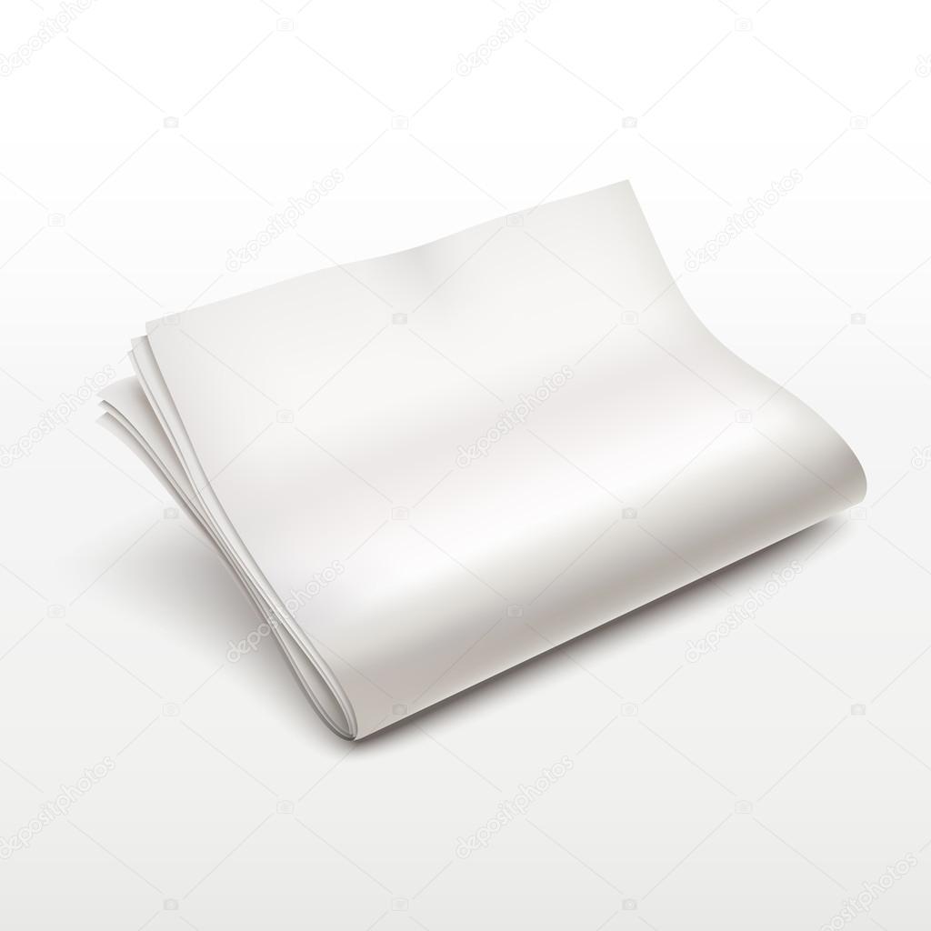 blank newspaper template stock vector kchungtw 50842643