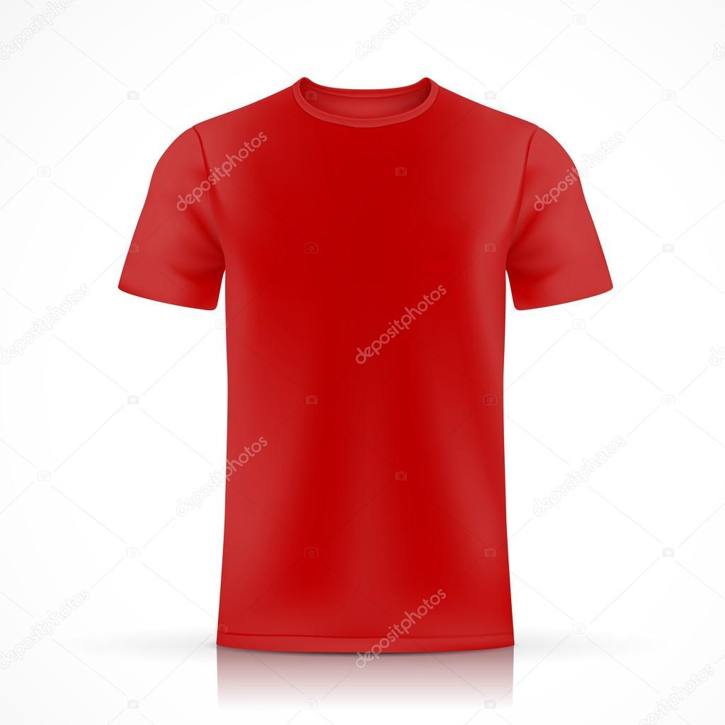 plantilla de camiseta roja — Vector de stock © kchungtw #50842825