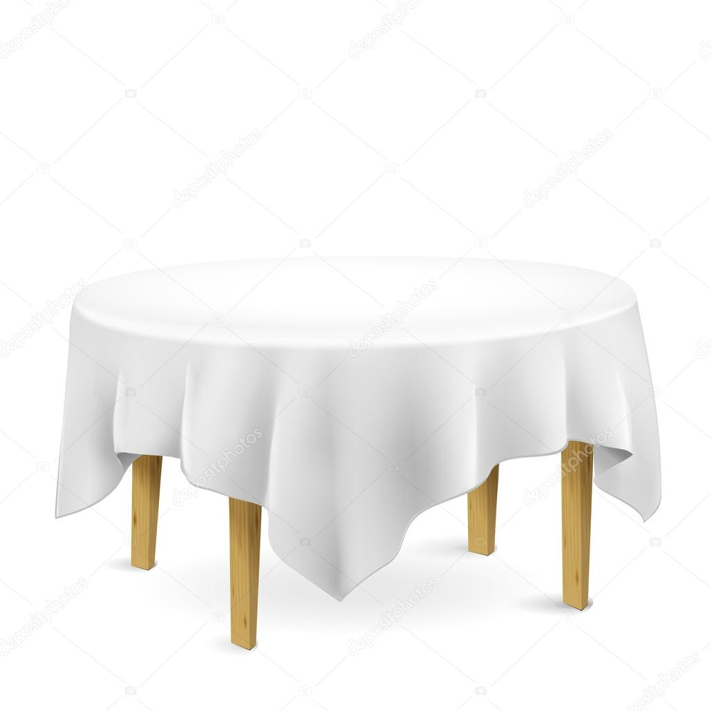 фото стол со скатертью