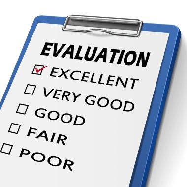 evaluation clipboard