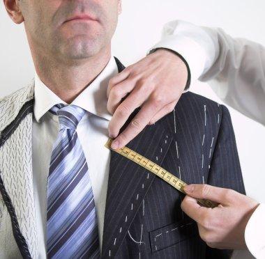 Semi-ready, elegant tailor made suit