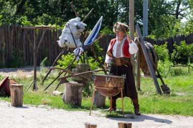 Cossack festival, Khortytsya, Ukraine.