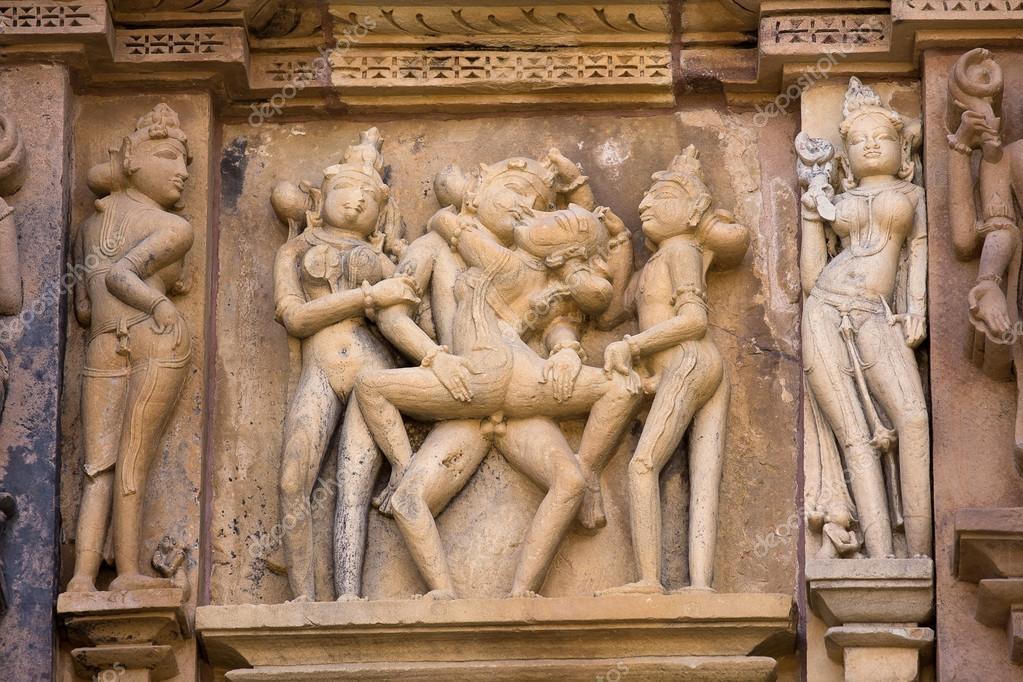 Эротика на храмах индии