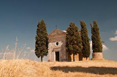 Beautiful Church in Tuscany, Italy