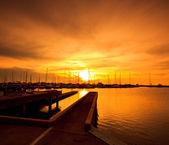 Fotografie přístav jachet