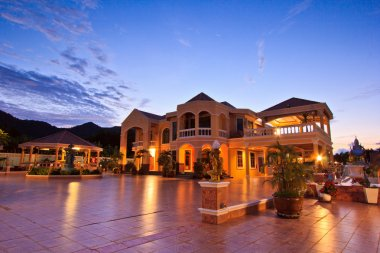 House at luxury resort
