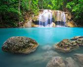 Beatifull blau Wasserfall