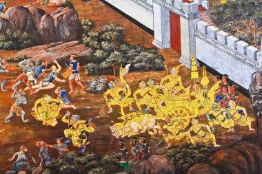 "Картина, постер, плакат, фотообои ""тайское искусство"", артикул 40808679"