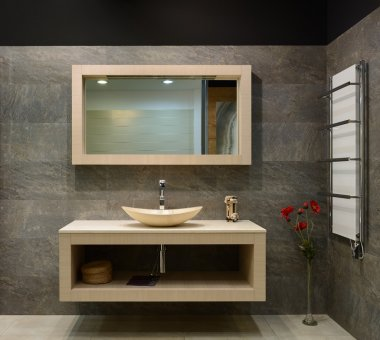 Modern interior. Bathroom