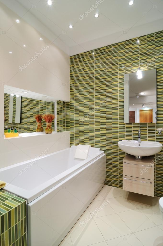 modern interieur. badkamer — Stockfoto © yu_tsai #41997779