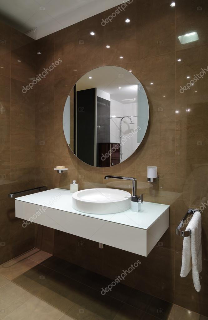 modern interiör. badrum — Stockfotografi © yu_tsai #41997845