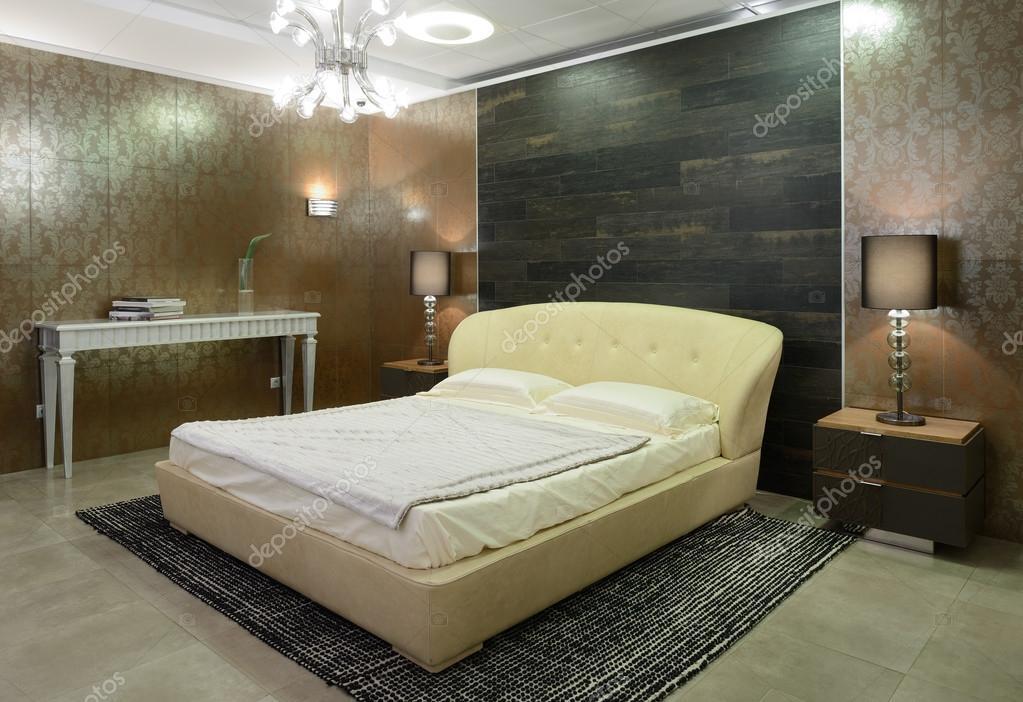 modern interieur. slaapkamer — Stockfoto © yu_tsai #42309549