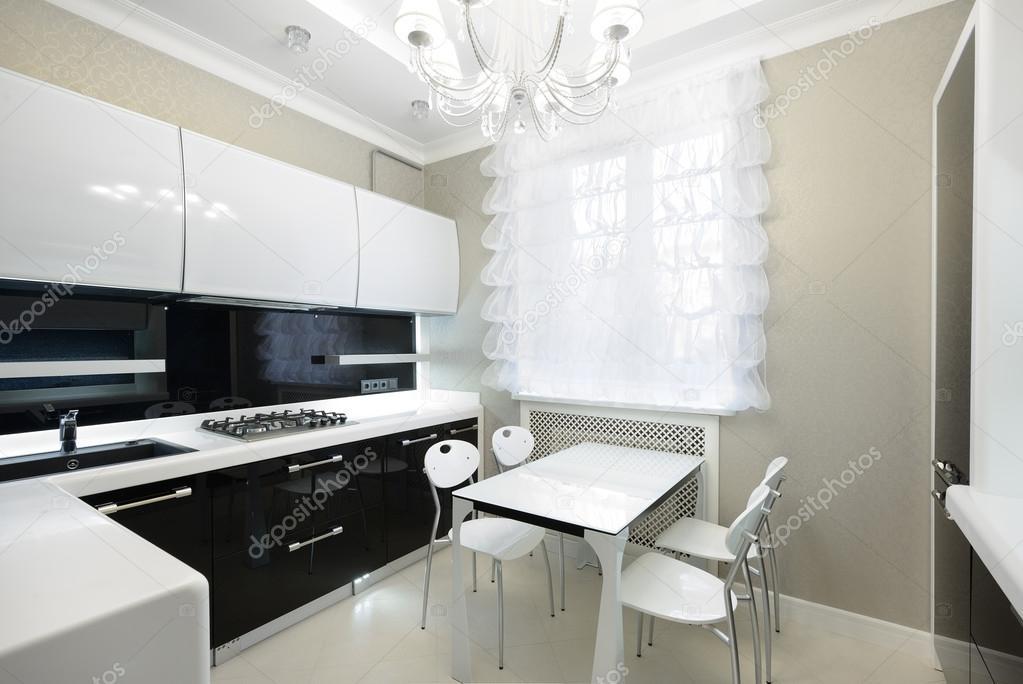 Modern interieur keuken u stockfoto yu tsai