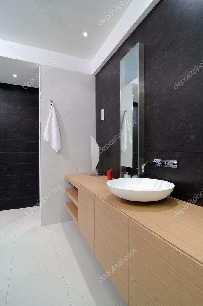 modern interieur. badkamer — Stockfoto © yu_tsai #43773783