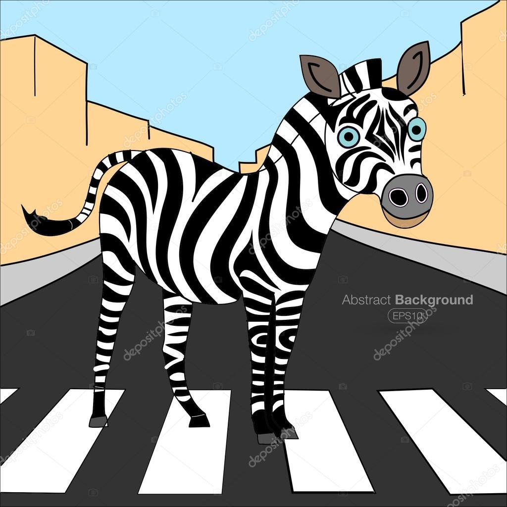 Картинки детских дорожной зебры