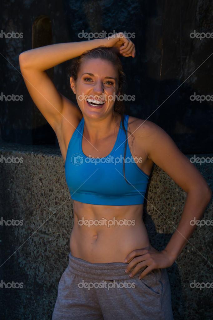 fit athletic females