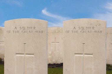 New British Cemetery in flanders fields great world war